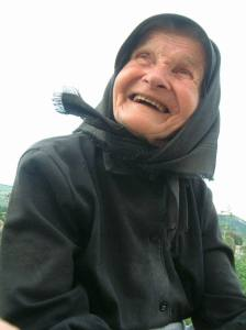 old romanian woman